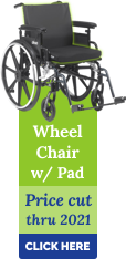 Wheelchair with Pad