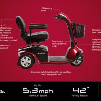 NEW PRIDE Victory 10, 3-wheel For Sale: specifications-image