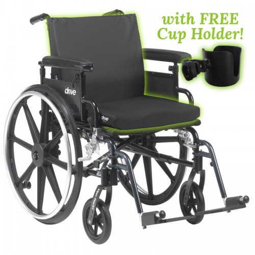 Padded Wheelchair Capacity 300 lbs Rental: WheelchairPads