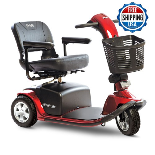 NEW PRIDE Victory 10, 3-wheel For Sale: victory-10-3-wheel-candy-apple-red