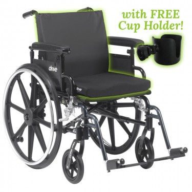 Padded Wheelchair - Capacity 300 lbs