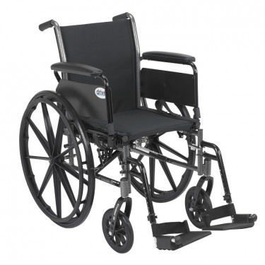 Manual Wheelchair - Capacity 300 lbs